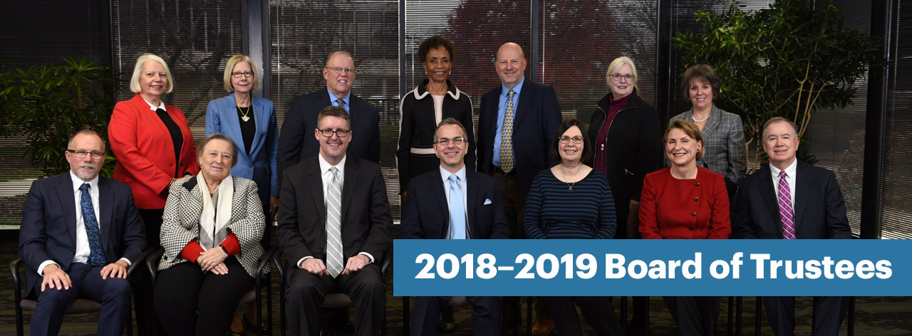 Photo: 2018–2019 Board of Trustees