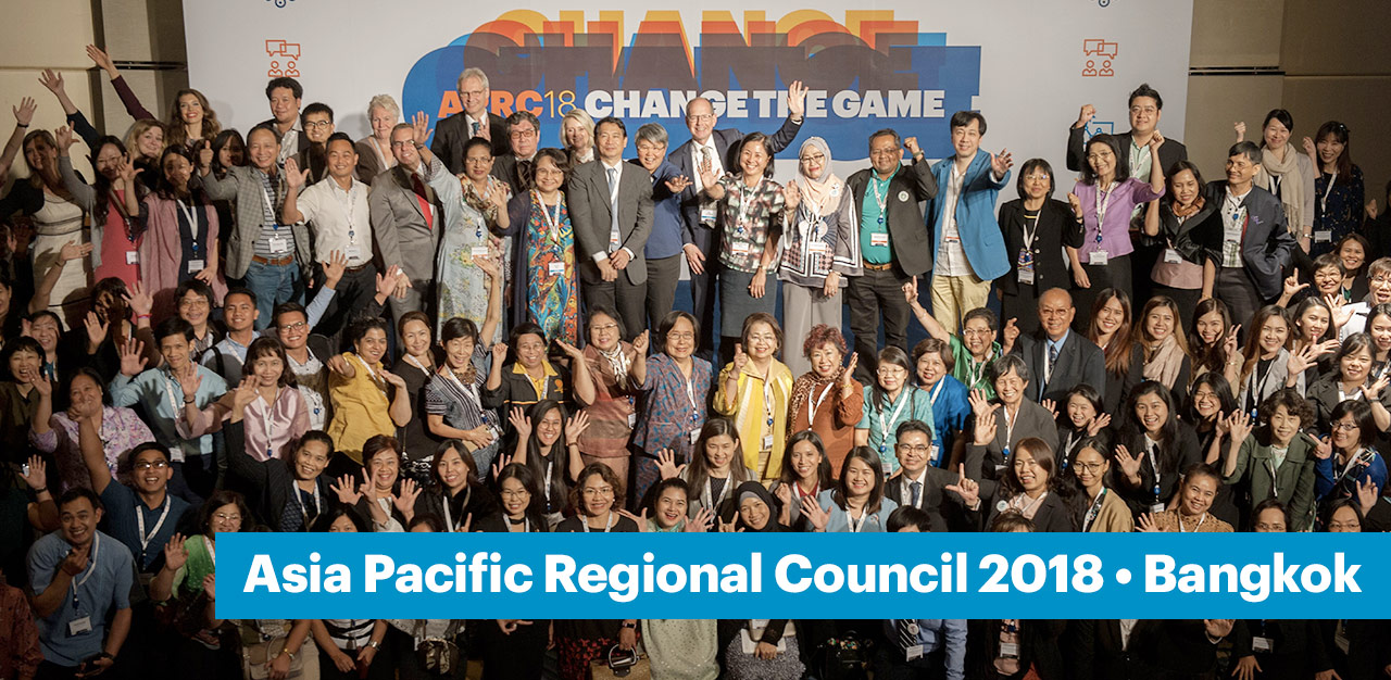 Photo: Asia Pacific Regional Council 2018 meeting