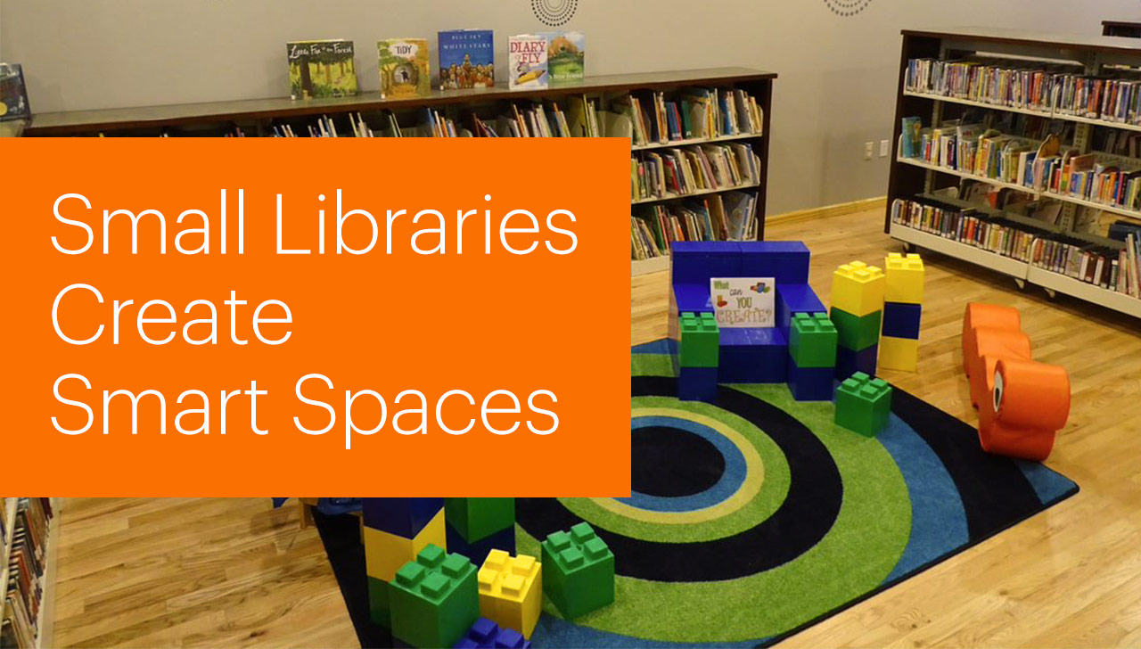 Illustration: 'Smart' space in a public library