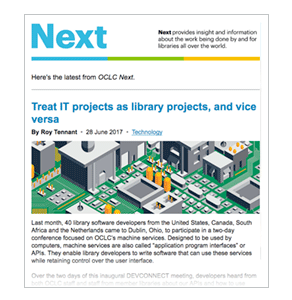 Image: OCLC Next
