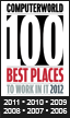 Computerworld Best Places to Work in IT 2011 logo