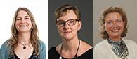 Image: Saskia Woutersen, Karen Lodder en Titia van der Werf