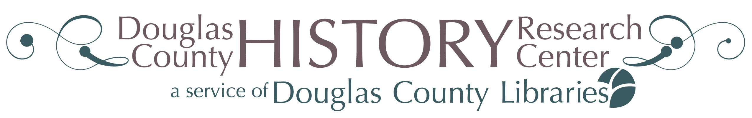 Logo van het Douglas County History Research Center