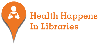 Logo Health Happens in Libraries