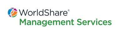 WorldShare Management Services stacked logo