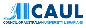 Logo du Council of Australian University Librarians