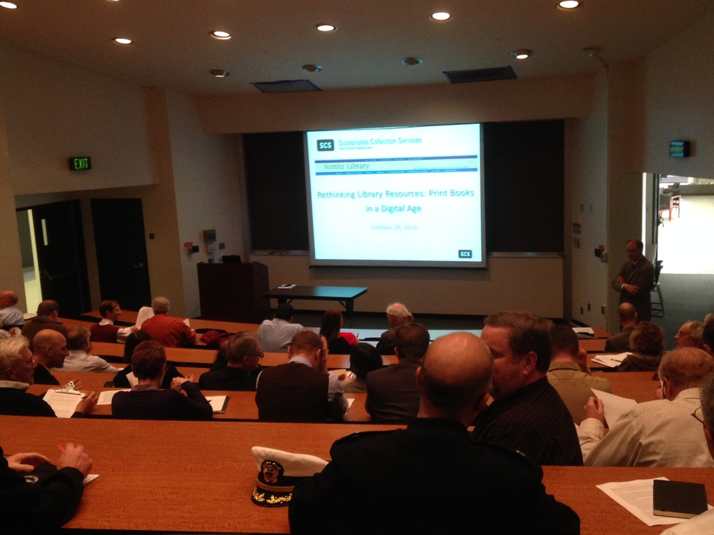 Well-attended faculty session at U.S. Naval Academy