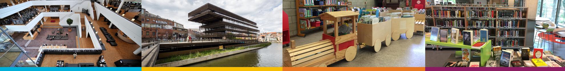 Wise als eengemaakt bibliotheeksysteem voor Vlaanderen.