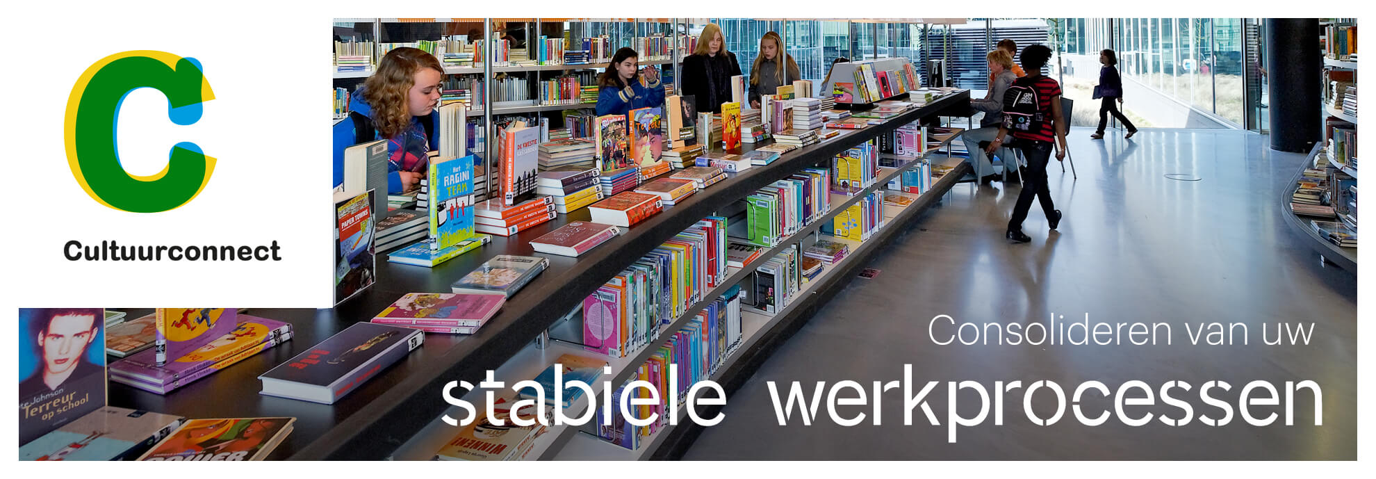 Consolideren van de stabiele werkprocessen van uw bibliotheek.