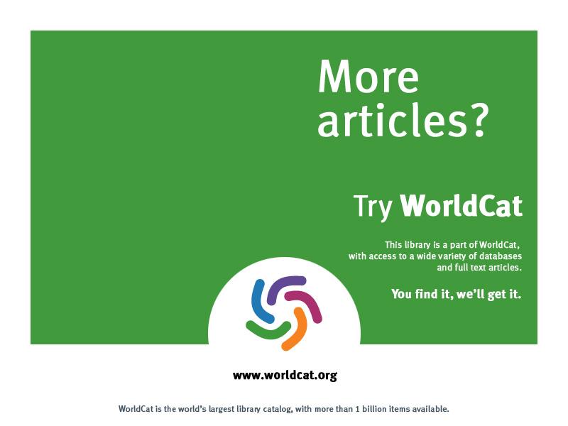 WorldCat | Austin Public Library