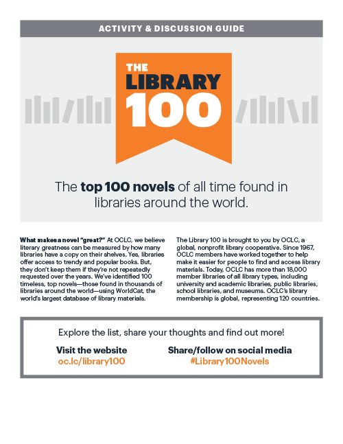 Image: Library 100 discussion guide