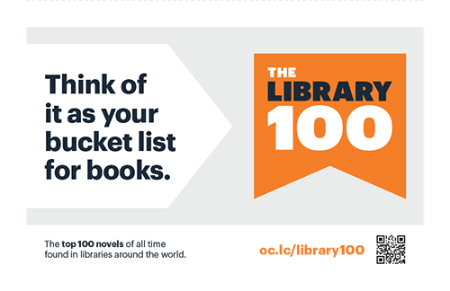 Image: Library 100 table tent -- Bucket List