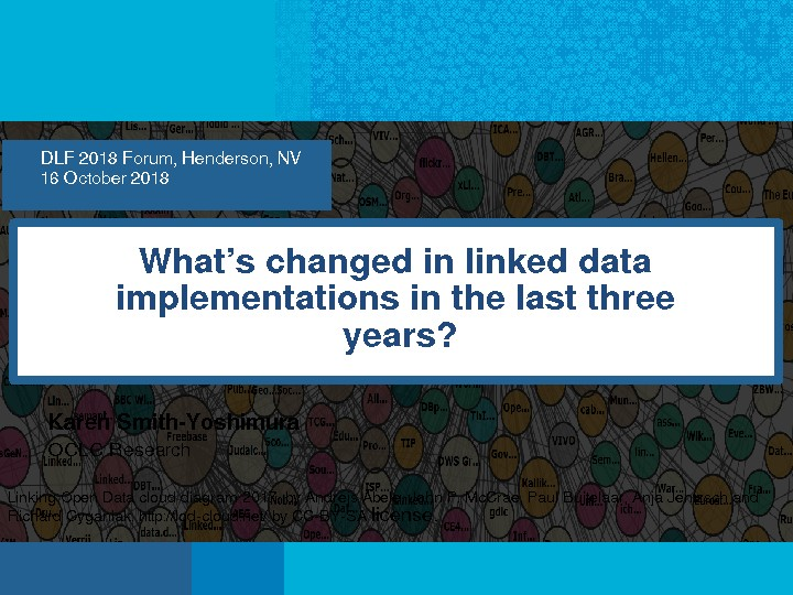 What's Changed in Linked Data Implementations in the Last Three Years?