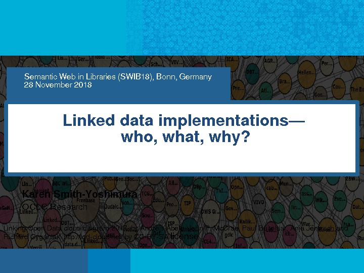 Linked Data Implementations—Who, What, Why?
