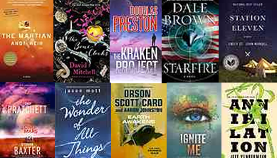 Top Science Fiction Books of 2014