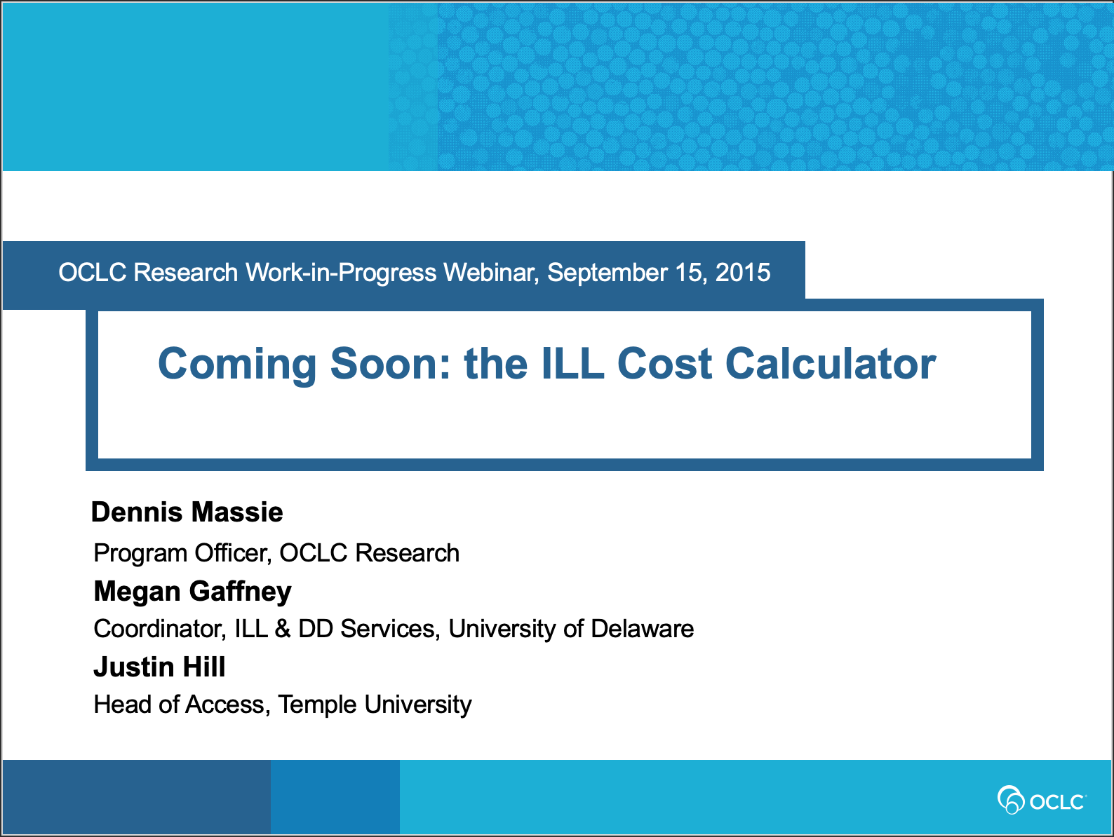 ILL Cost Calculator