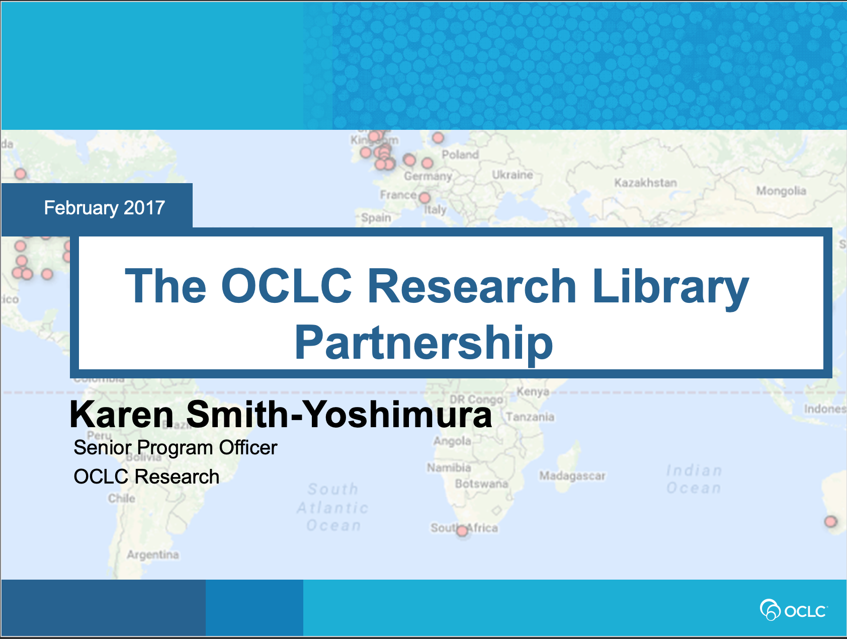 The OCLC Research Library Partnership