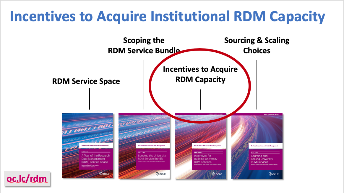 Identifying and Acting on Incentives when Planning RDM Services (video)