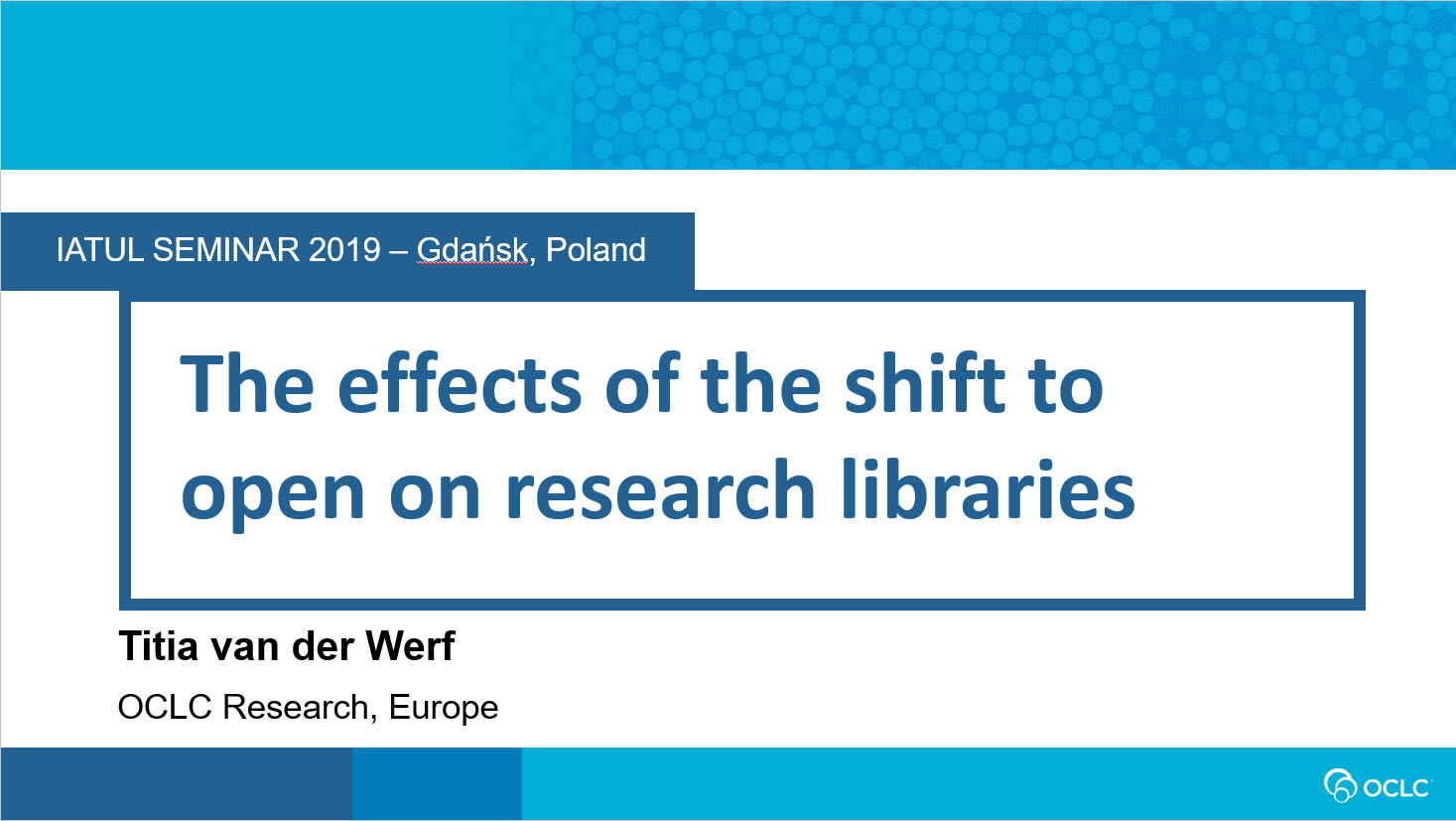 The Effects of the Shift to Open on Research Libraries