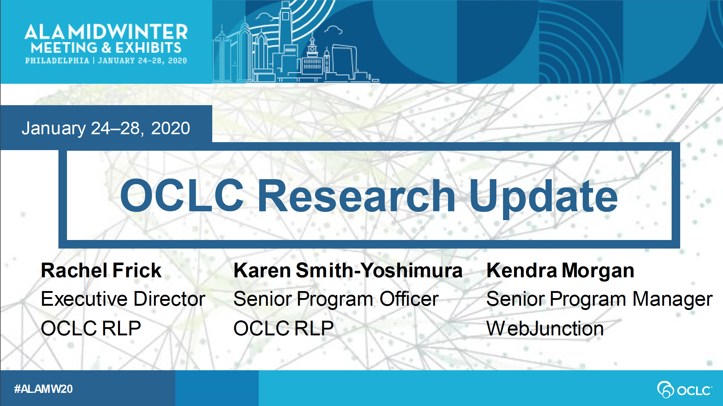 OCLC Research Update