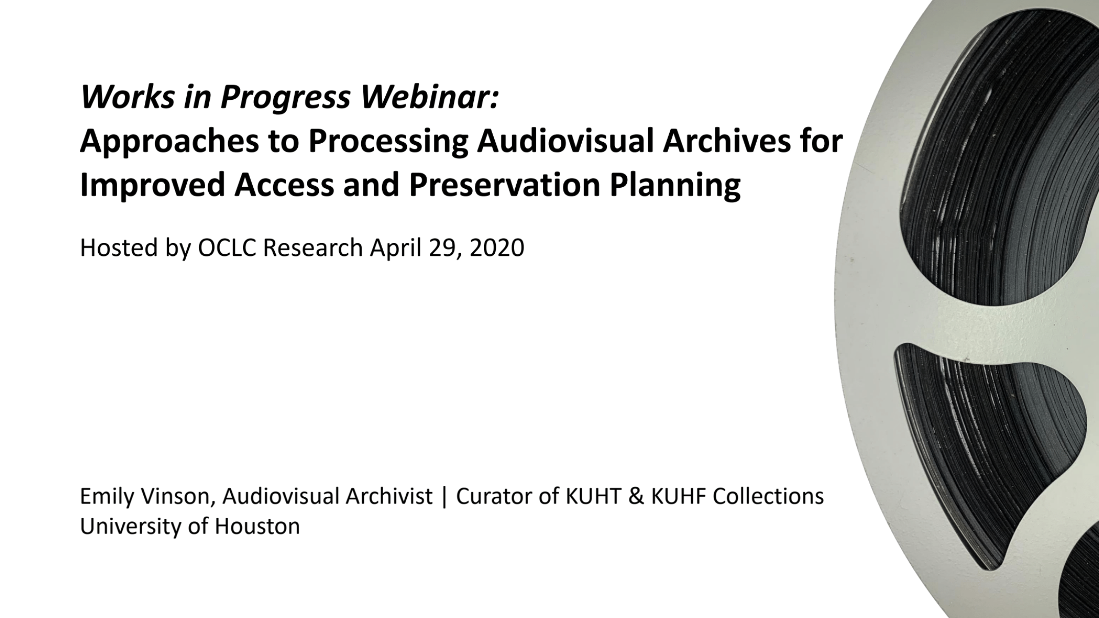 Approaches to Processing Audiovisual Archives for Improved Access and Preservation Planning