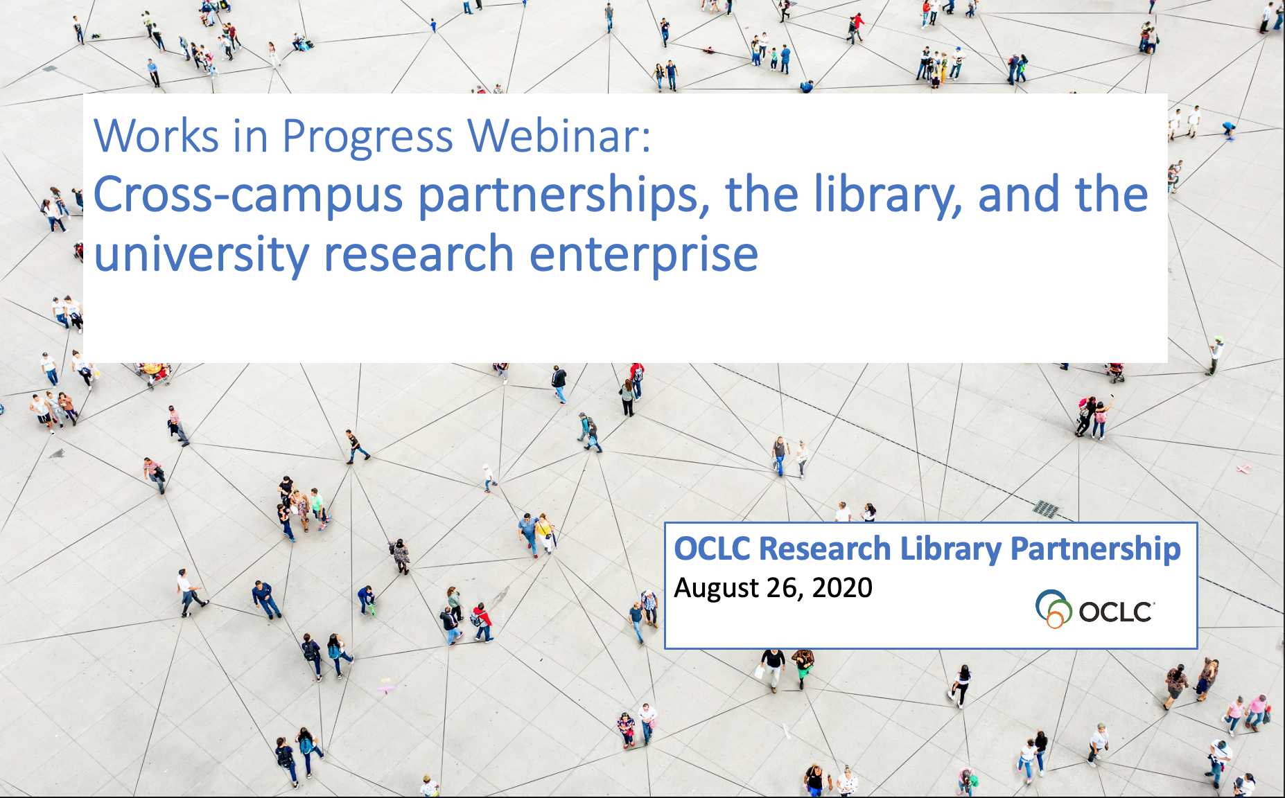 Cross-campus partnerships, the library, and the university research enterprise