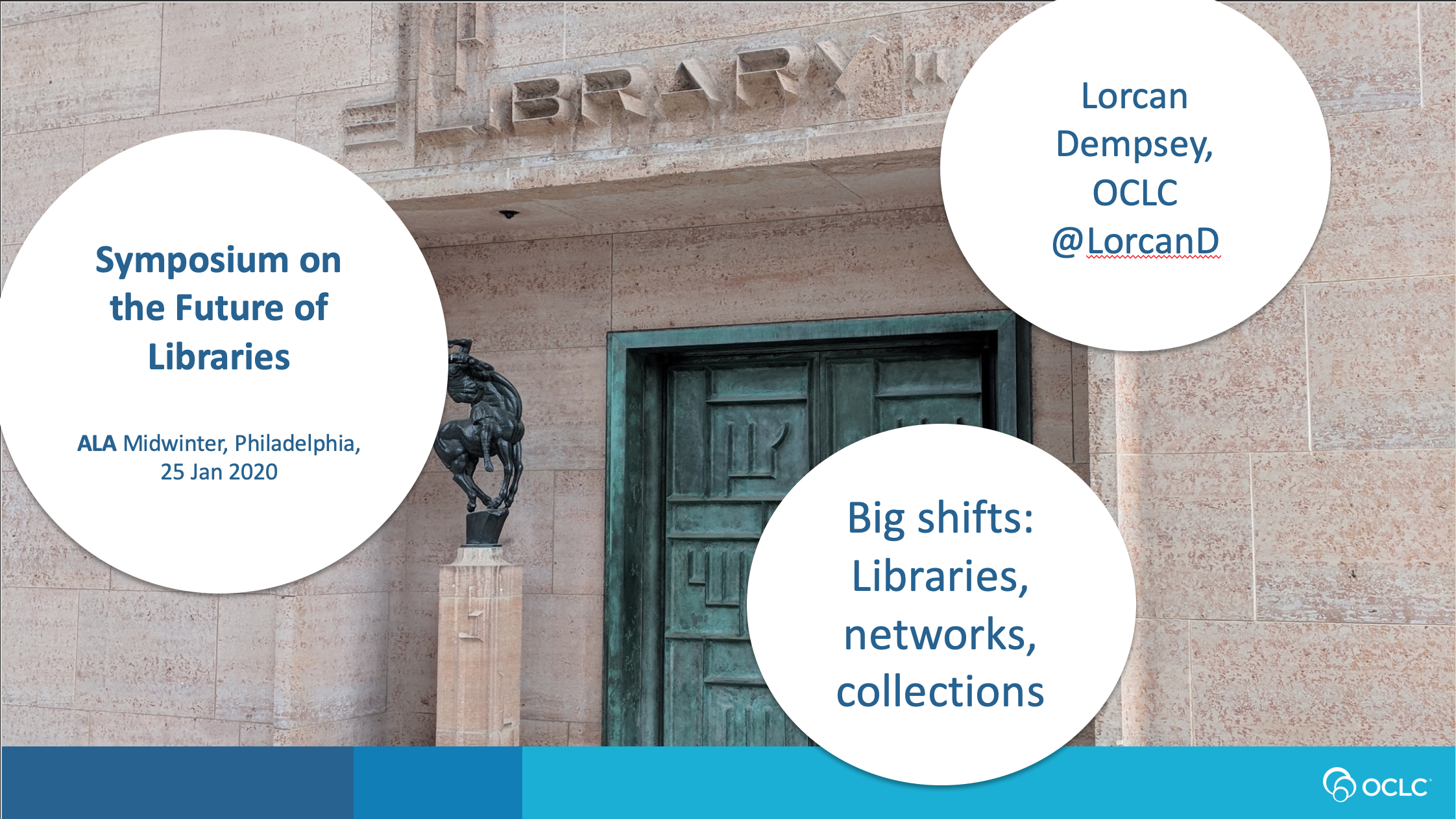 Big Shifts: Libraries, Collections, Networks