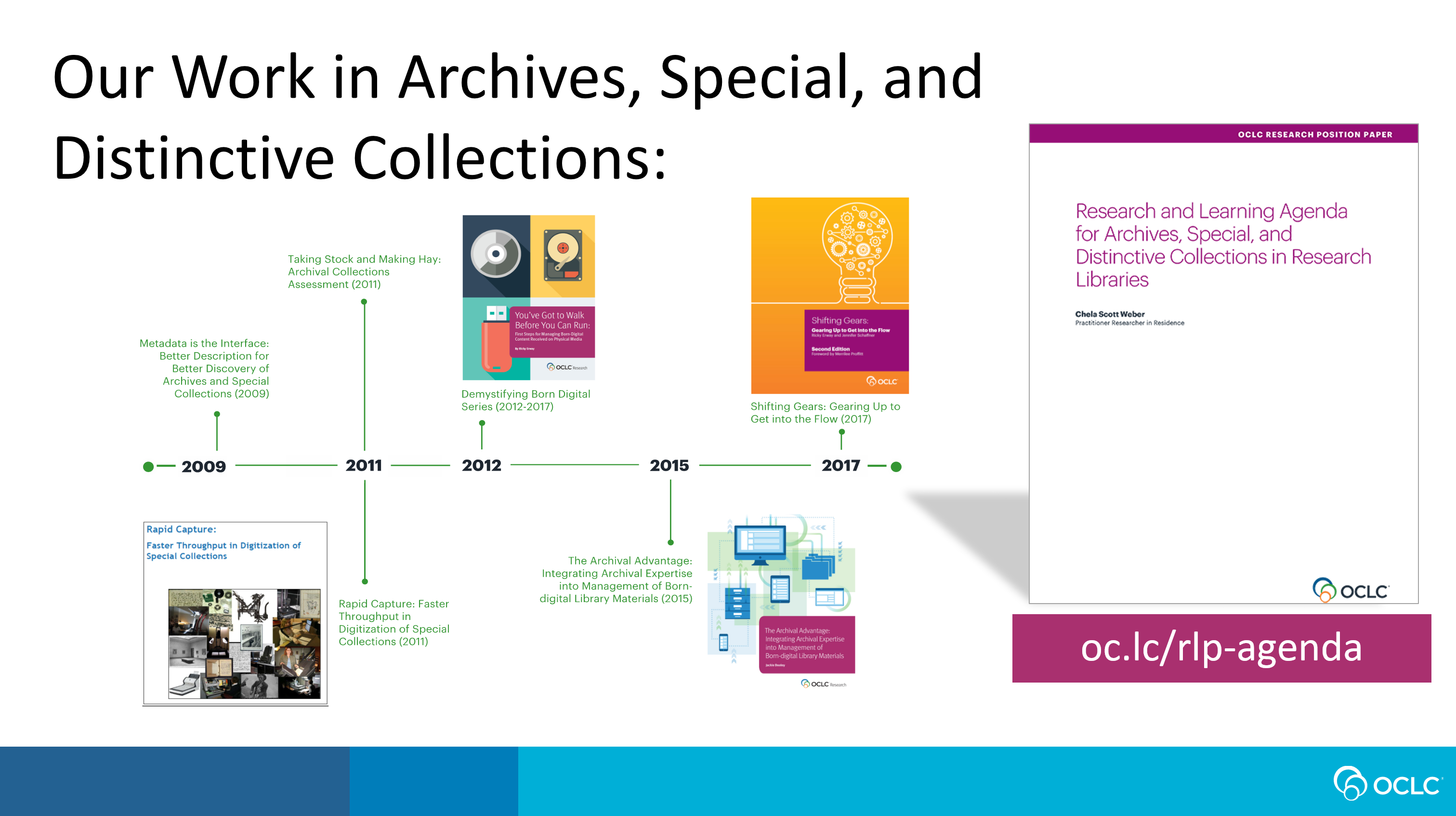 OCLC RLP Collection Building and Operational Impacts Working Group Update