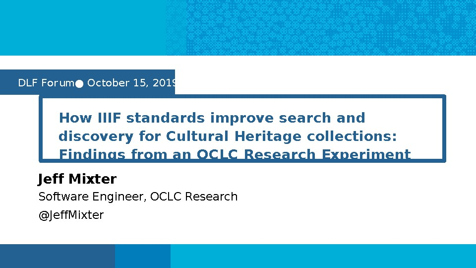 How IIIF standards improve search and discovery for Cultural Heritage collections
