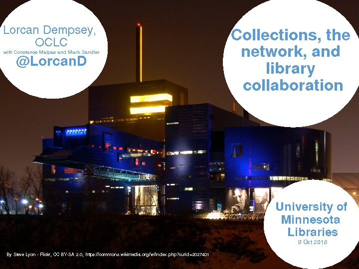 Collections, the Network, and Library Collaboration