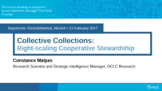 Collective Collections: Right-scaling Cooperative Stewardship