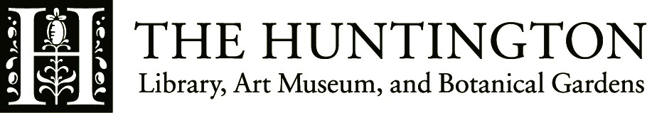"Logo ""The Huntington Library, Art Museum and Botanical Gardens"""
