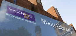 Bibliothek der University of Manchester