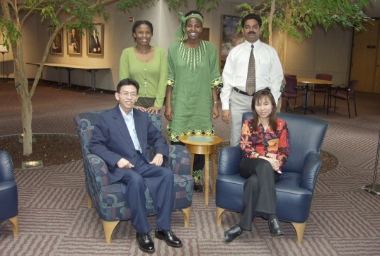 Photo of the 2002 Fellows