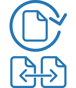 Circulation and interlibrary loan icons