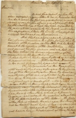 Thomas Johnson Letters