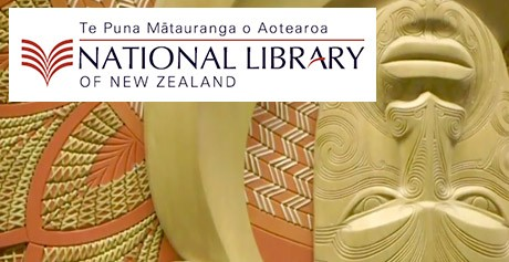 National Library of New Zealand's exhibit