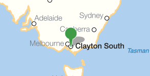 Map showing location of CSIRO