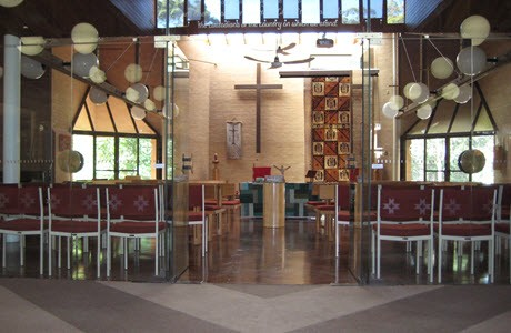 The chapel in Camden Theological Library