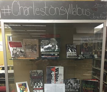 #CharlestonSyllabus display at Florida State University