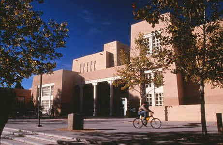 The University of New Mexico's University Library