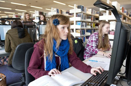 Photo of a student at the University of Winchester
