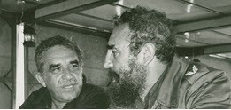 Unidentified photographer. Gabriel García Márquez with Fidel Castro, undated. Courtesy Harry Ransom Center