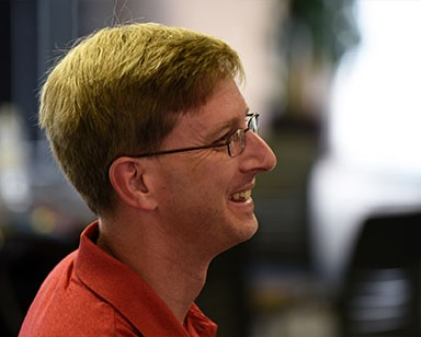 Brian Miller, The Ohio State University, listening during the ILL workshop