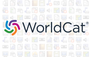 WorldCat logo with format icons