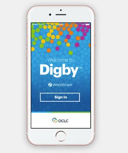 Screenshot of Digby app on mobile phone