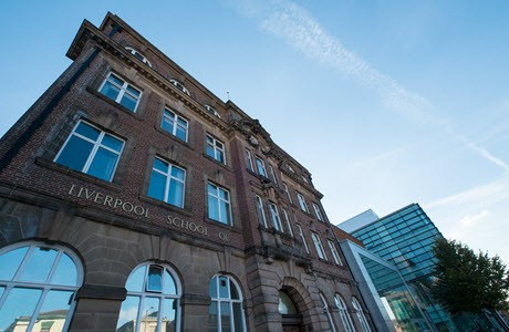 Imagen del edificio de Liverpool School of Tropical Medicine