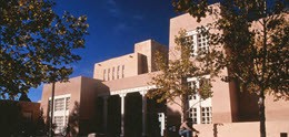 Bibliotheek van University of New Mexico