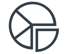 pictogram voor analytics
