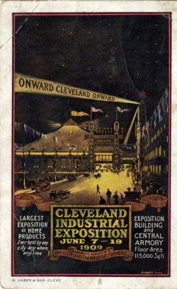 Cleveland Expo from Cleveland Public Library CONTENTdm collection